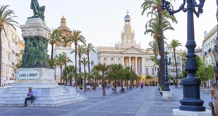 Das Rathaus von Cadiz